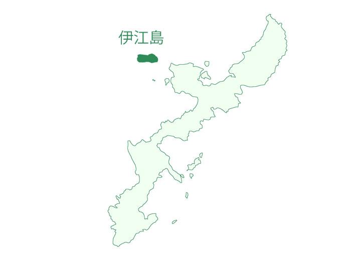 伊江島地図